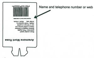 Label example